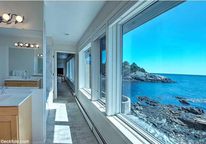 House on the Water Front, Nahant, Master Bathroom2. Massachusetts