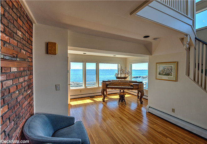 House on the Water Front, Piano Room, Nahant, MA
