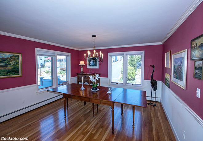 House on the Water Front, Dining Room, Nahant, MA