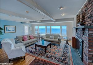 House on the Water Front, Nahant, Living Room. Massachusetts