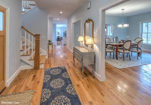 EckFoto Real Estate Photography Hallway, 318 Old Marlboro Road, Concord, Massachusetts