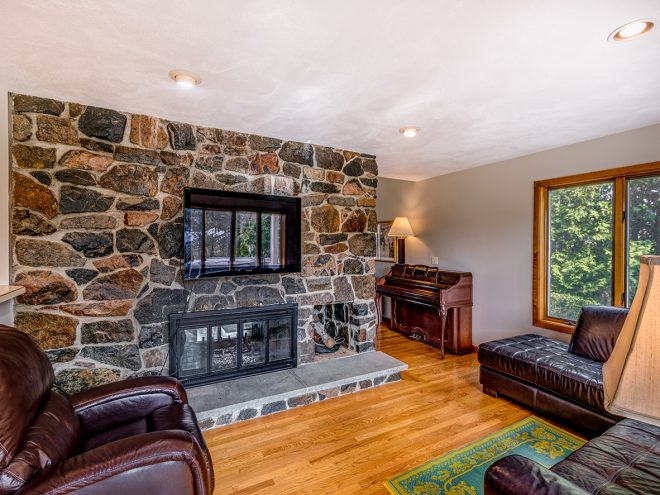 EckFoto Real Estate Photography, Living Room at 16 McKinley Road, Marblehead, MA