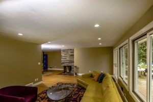 EckFoto Real Estate Photography - Beautiful Home in Arlington, MA - Living Room
